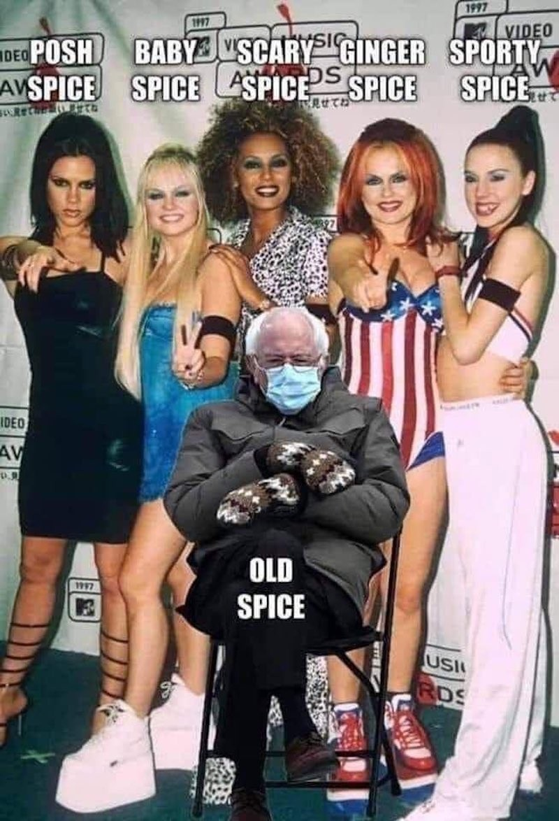 Bernie Sanders and the Spice Girls