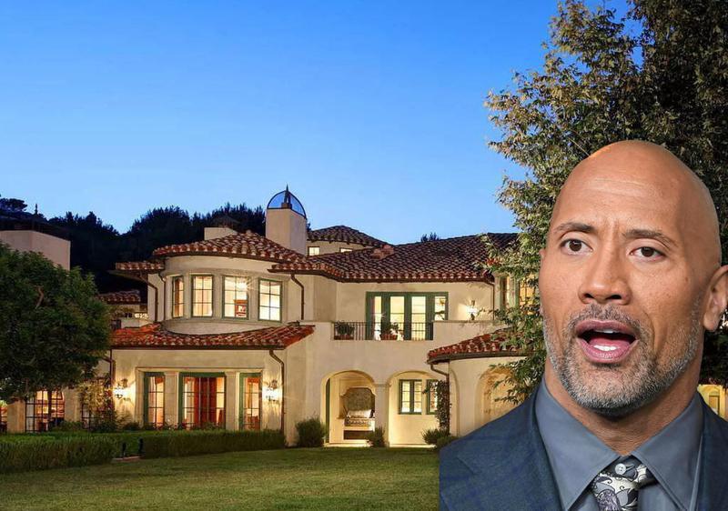"Dwayne ""The Rock"" Johnson's House"