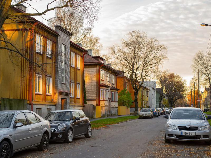 Cars in Tallin, Estonia