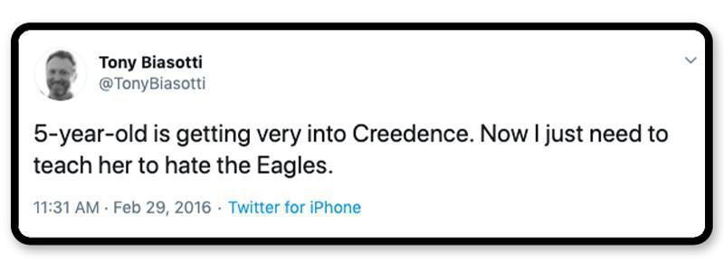 Creedence vs. the Eagles