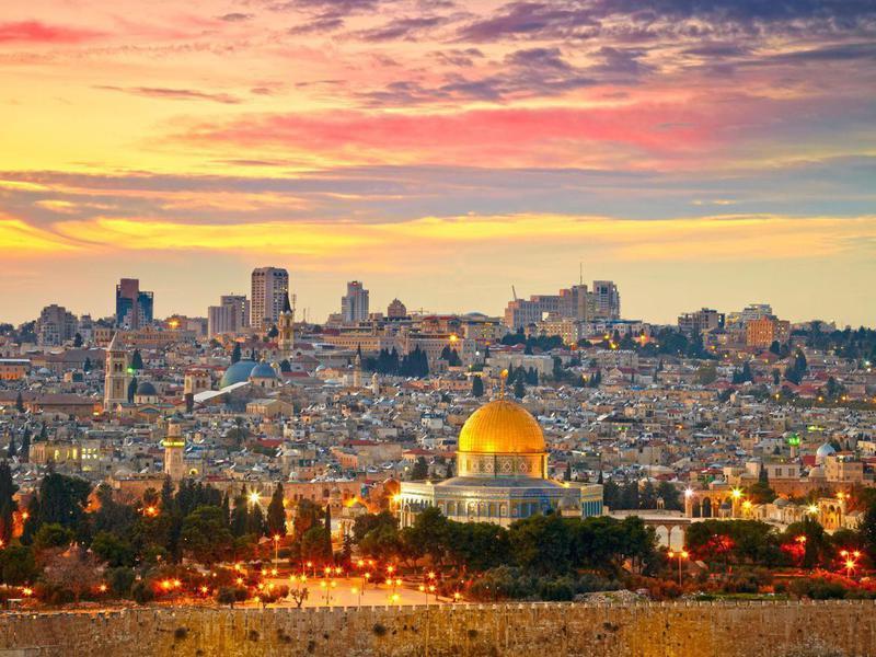 Skyline of Jerusalem