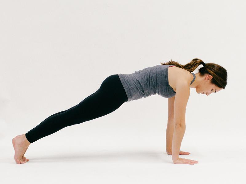 Plank - 10 Minutes of Yoga to Jumpstart Your Work Day