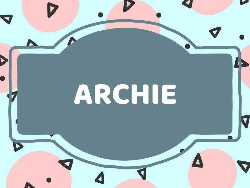 Unique Baby Boy Names: Archie