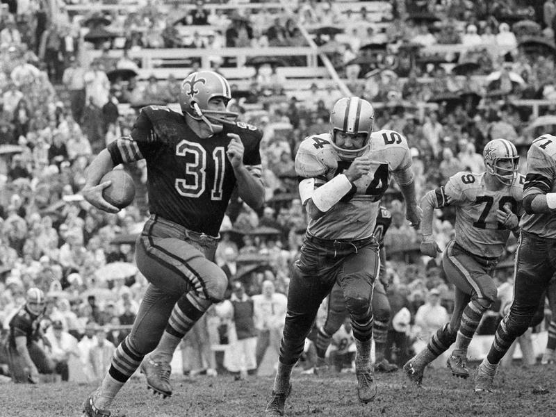 Dallas Cowboys linebacker Chuck Howley