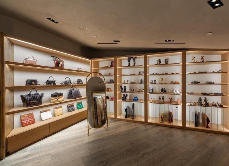 Chrissy Teigen's closet