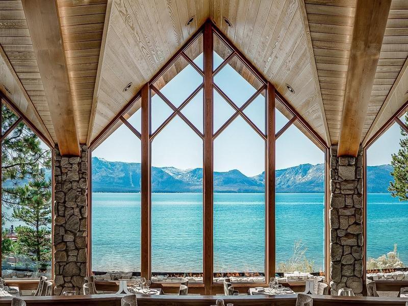 Lake Tahoe luxury eco resort