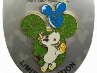 2014 Disney 9th Anniversary Balloon Collection Buttercup Pin