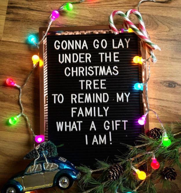 Christmas family meme