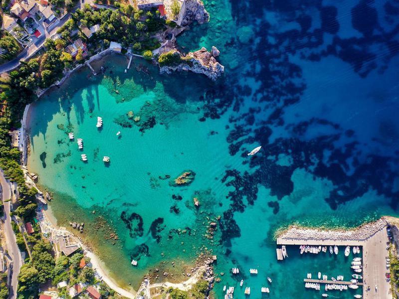 Corfu coastline