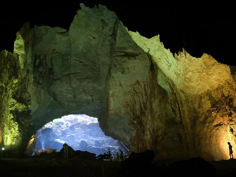 Caves of Heaven and Hell