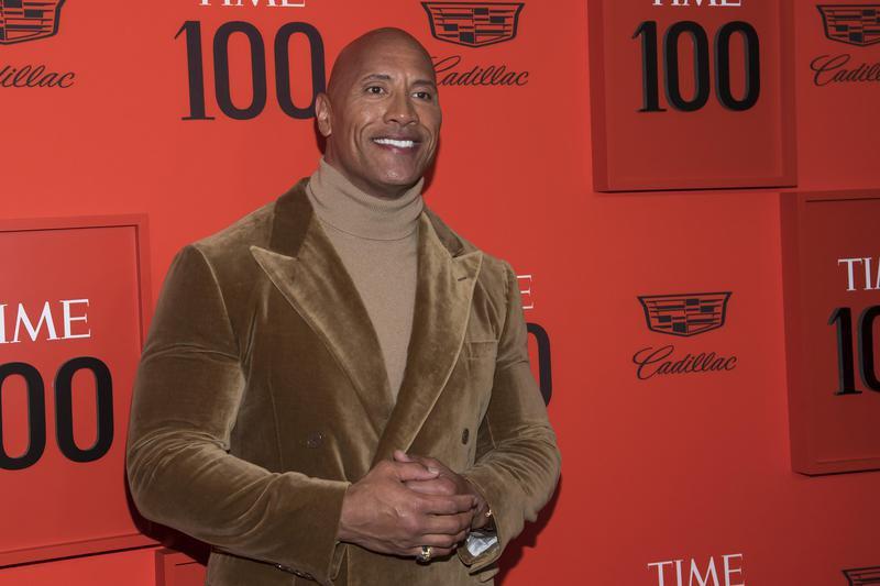 Dwayne Johnson at 2019 Time 100 Gala