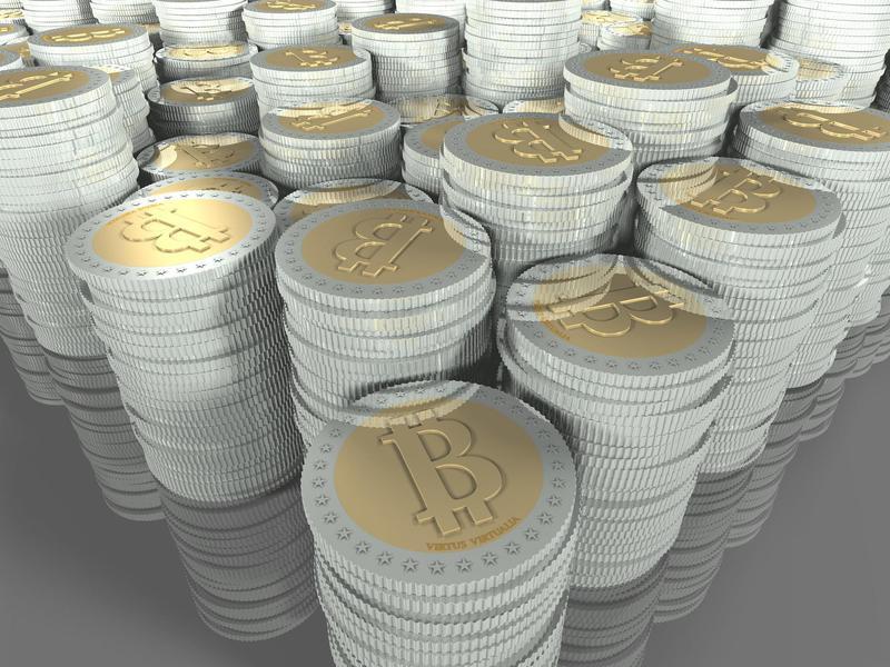 Bitcoin piles