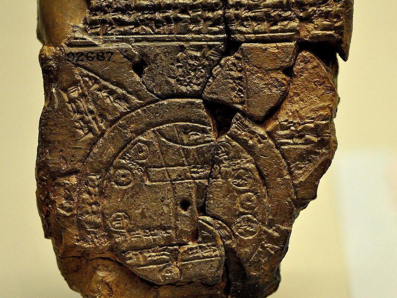 Babylonian world map
