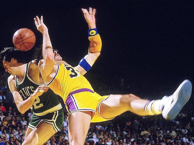 Boston Celtics forward Kevin McHale