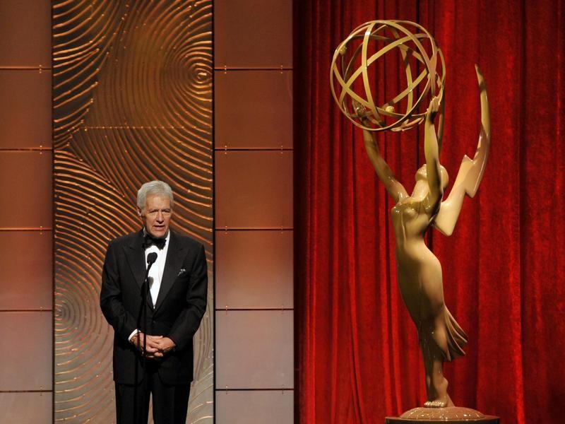 Alex Trebek at the 2013 Emmys
