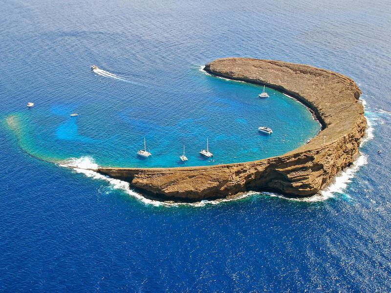 Molokini Island Hawaii