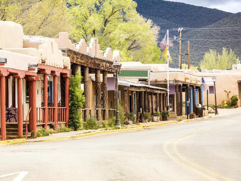 Buildings in Taos