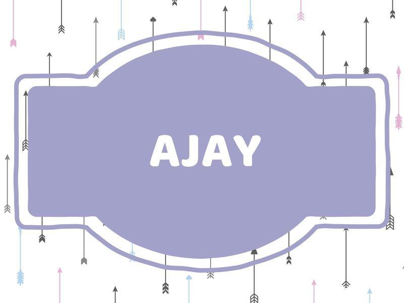 Unique Baby Boy Names: Ajay