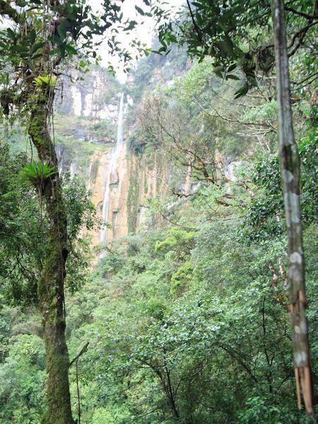 Yumbillia Falls