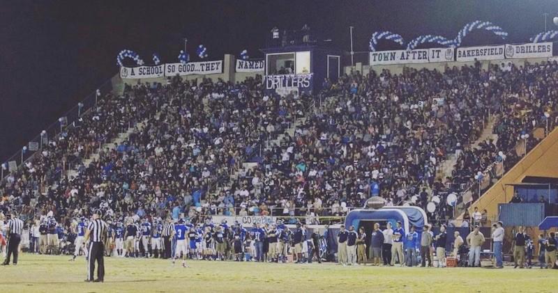 Bakersfield football game