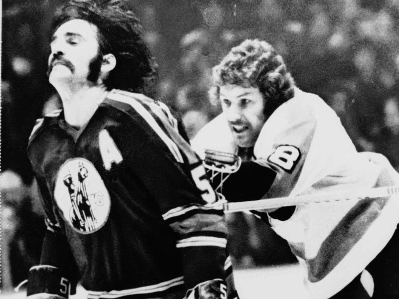 "Dave Schultz and ""Broad Street Bullies"""