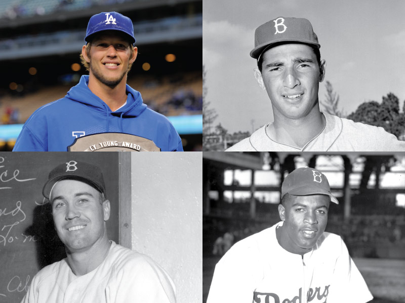 Brooklyn/Los Angeles Dodgers Mount Rushmore