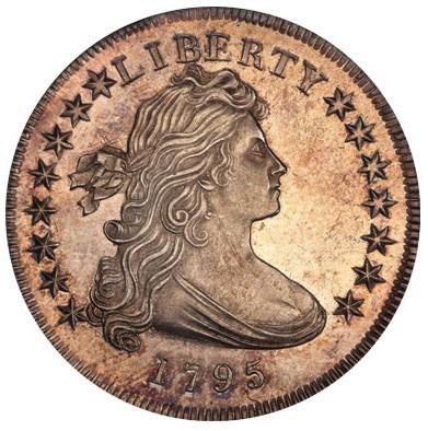 1795 Draped Bust Silver Dollar