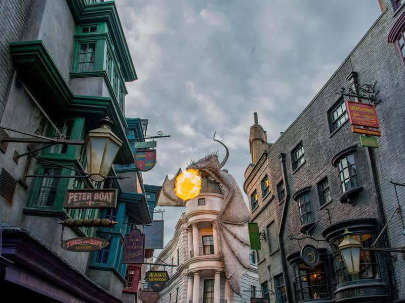 Harry Potter World at Universal Studios, Orlando
