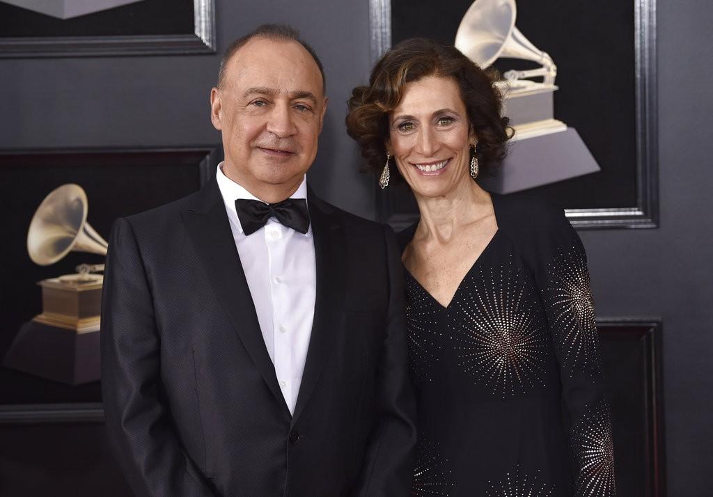 Len Blavatnik and his wife Emily Appelson
