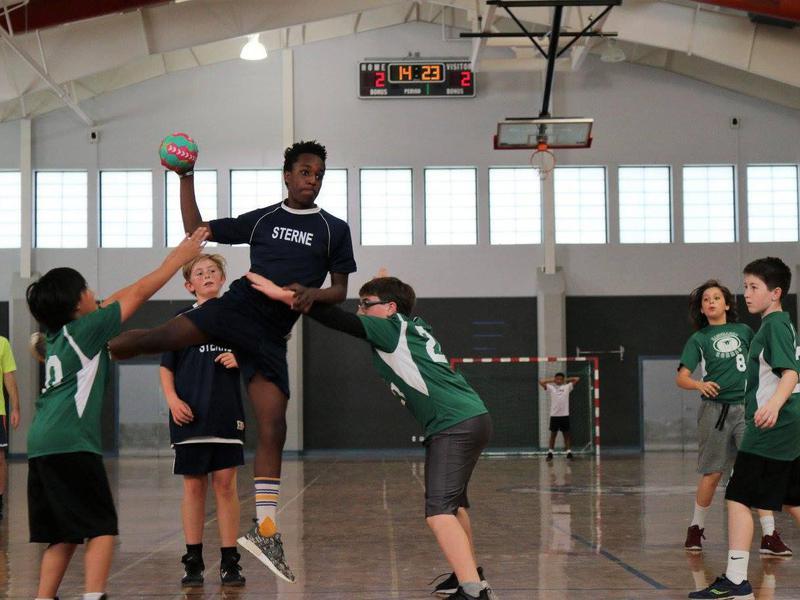 Middle school handball