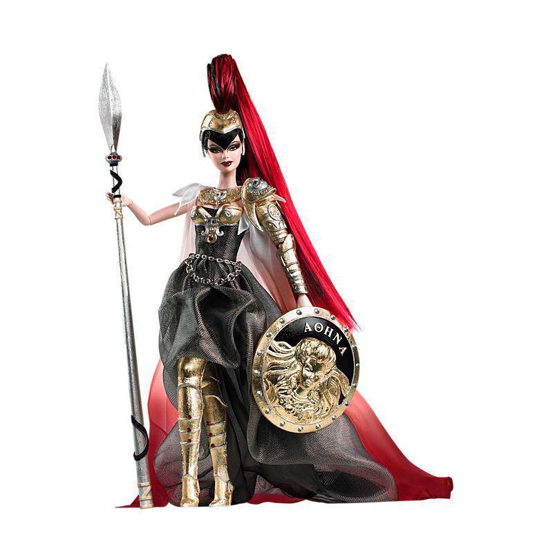 Barbie as Athena