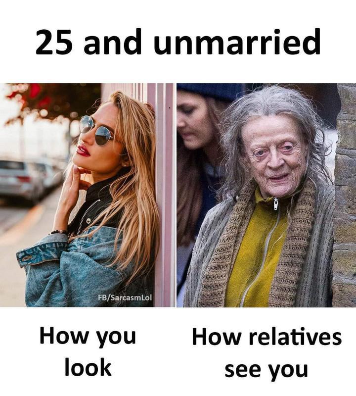 Unmarried meme