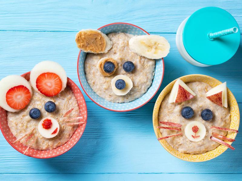 bunny oatmeal