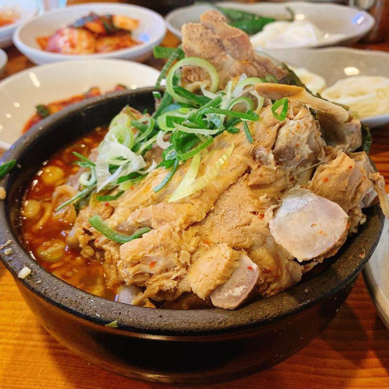 Haejangguk Korean hangover soup