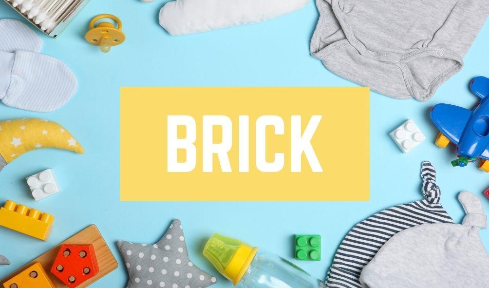 Bad Baby Names: Brick