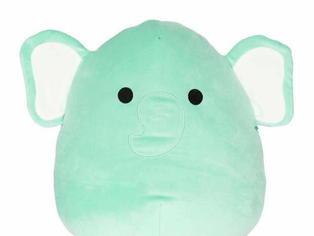 Diego the Teal Elephant Squishmallow
