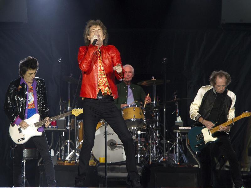 Ronnie Wood,Mick Jagger,Charlie Watts,Keith Richards