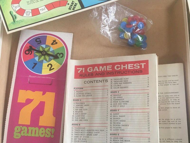 71 Board Games!