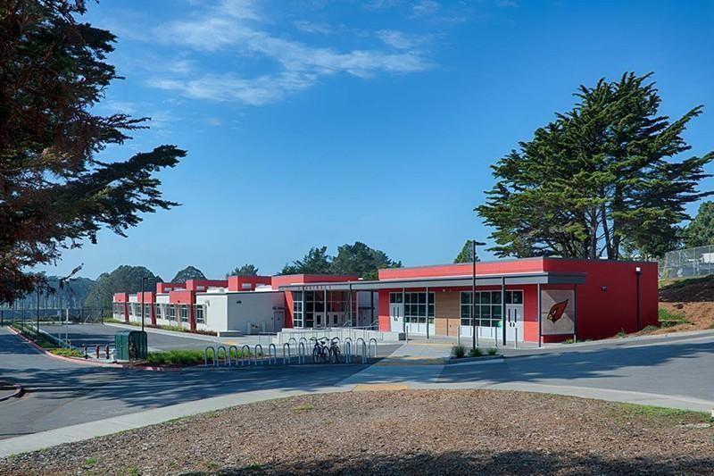 Lowell High School in California