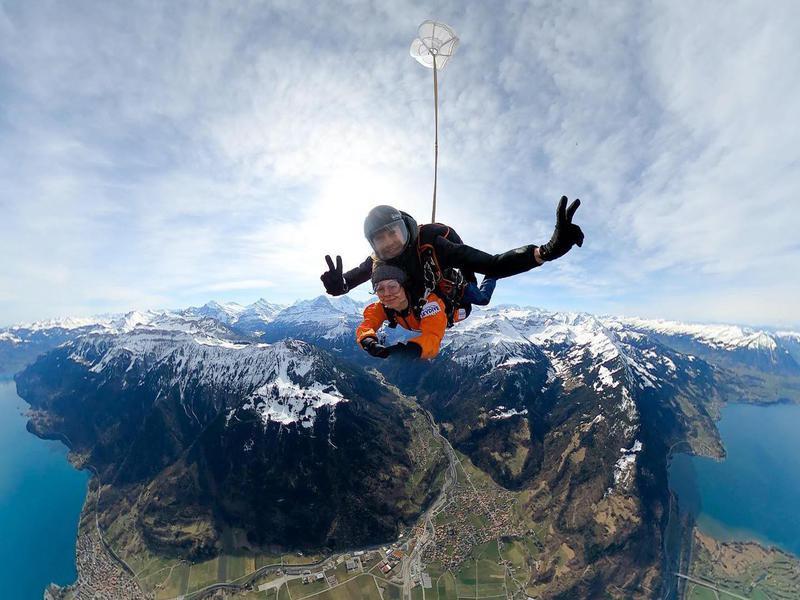 Skydive Interlaken