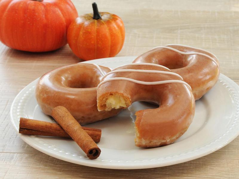 Pumpkin Spice Cheesecake Donut