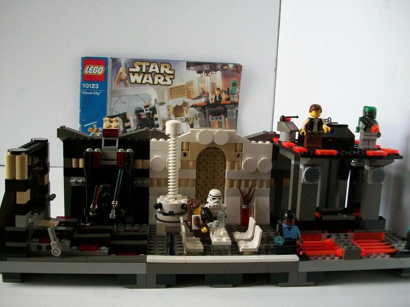 Star Wars Cloud City Lego