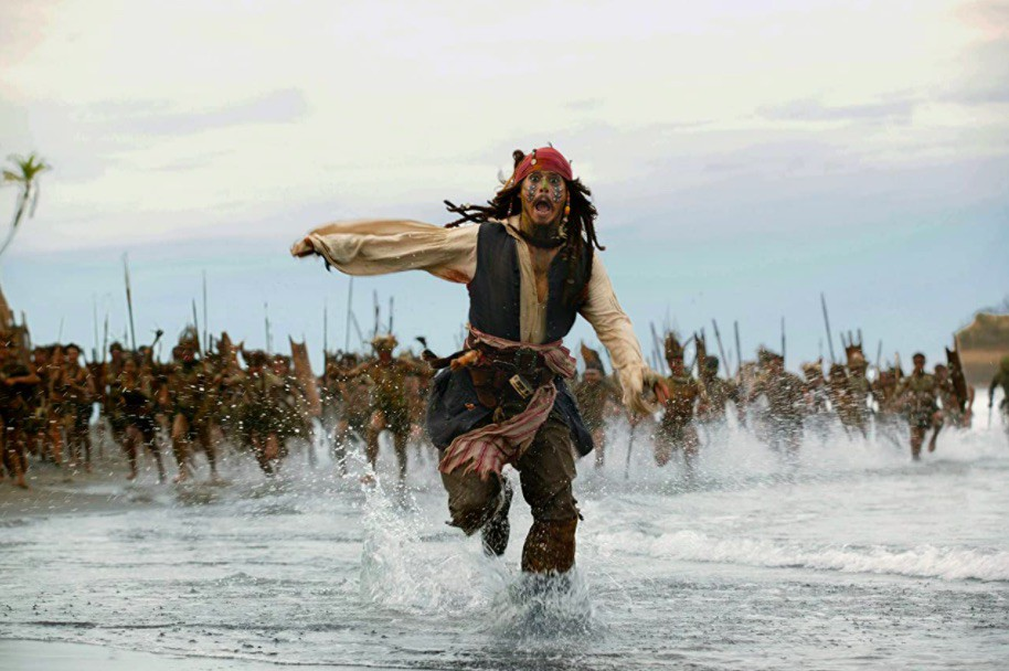 Johnny Depp in Pirates of the Caribbean: Dead Man's Chest