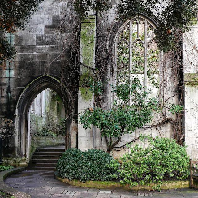 The Ruins of St. Dunstan-in-the-East