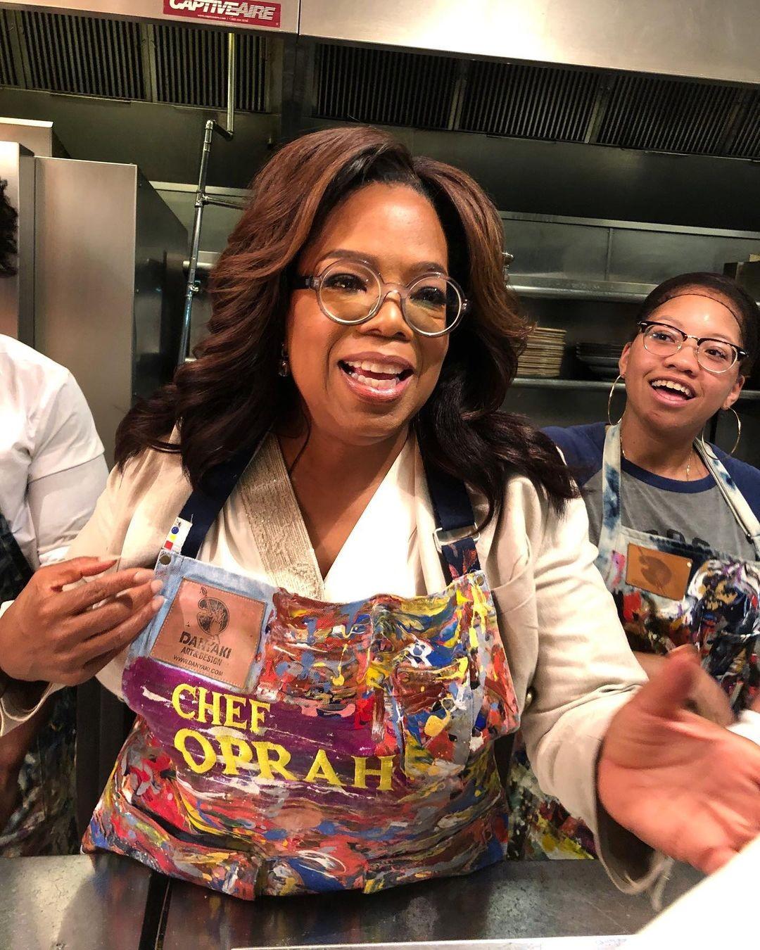 Oprah at Red Rooster in Harlem