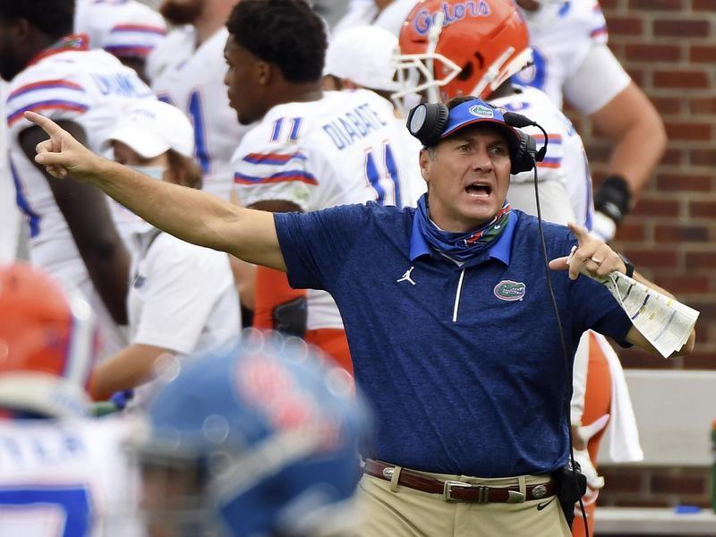 Florida coach Dan Mullen