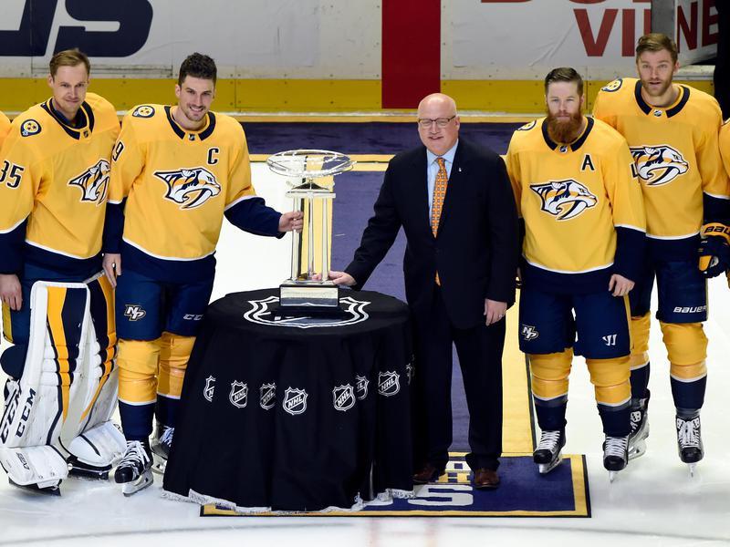 2017-18 Nashville Predators and Presidents' Trophy