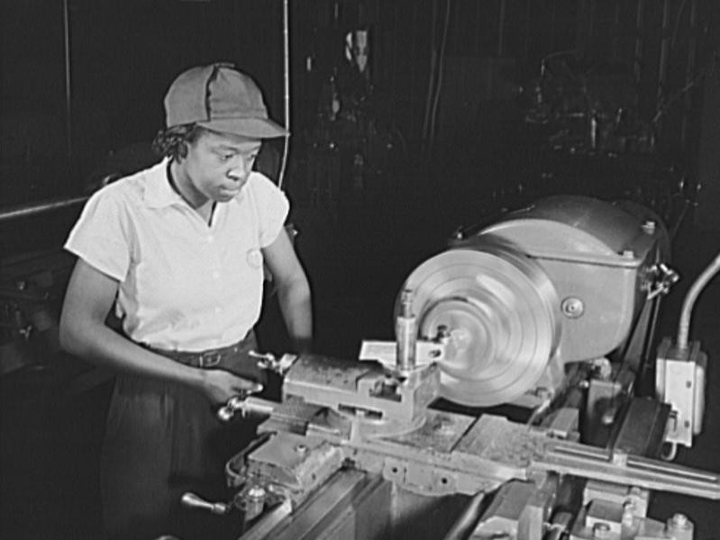 Female Worker in National Youth Administration