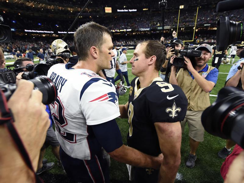 Tom Brady and Drew Brees