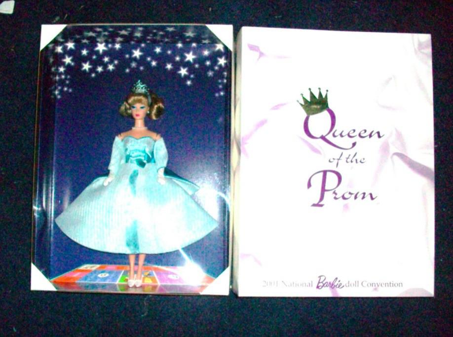 Aqua Queen of the Prom Barbie in box